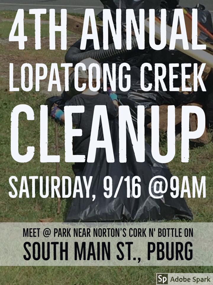 4th Annual Lopatcong Creek Cleanup